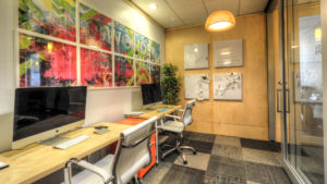 cherry creek office with imacs