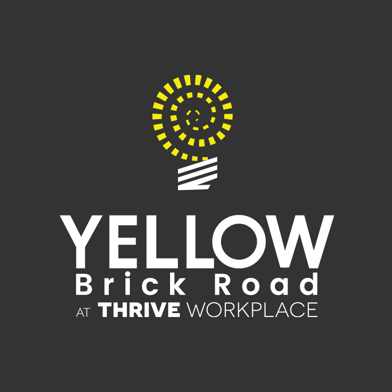 yellow brick road thrive workplace logo
