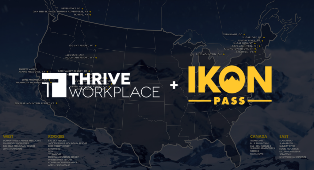 Thrive Now Offers Ikon Pass Subscription to All Members