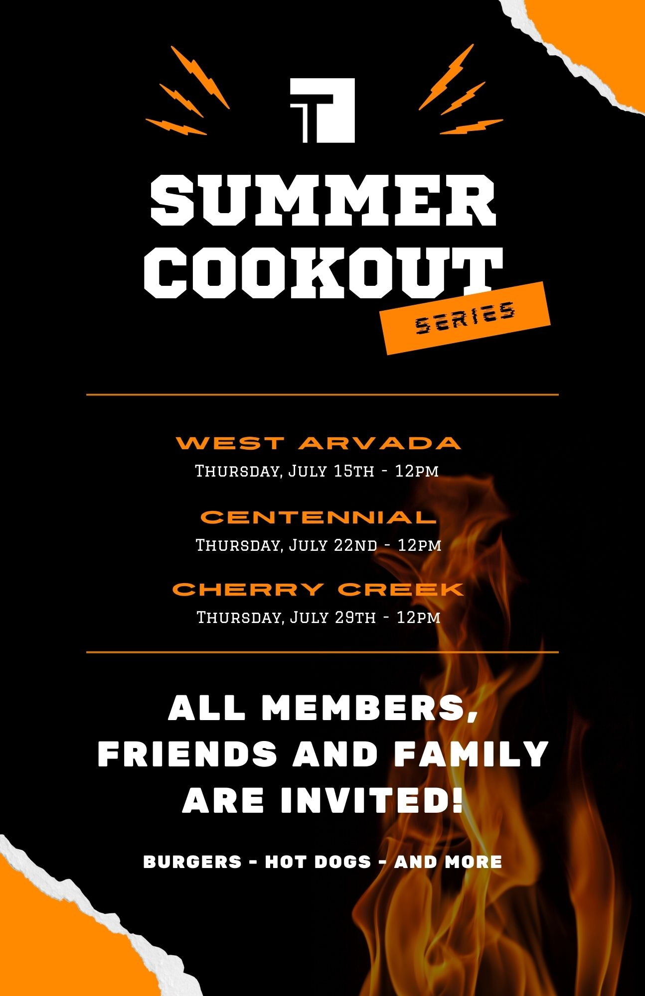 Summer Cookout Series Poste
